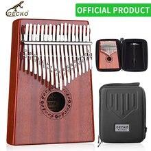 Gecko kalimba 17 клавиш thumb piano builts in eva высокопроизводительный