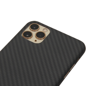 Image 3 - Kevlar real pure carbon fiber fashion phone case for iphone 11 pro max Ultra thin Anti fall hard business cover case 11 X shell