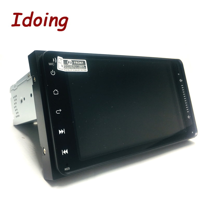 """Image 4 - Idoing 7"""" 1 Din Android 9.0 Car Radio GPS Multimedia Player For Toyota Universal IPS Screen 4G Ram 64G Rom Octa Core NavigationCar Multimedia Player   -"""