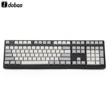 Luce Bianca Grigio PBT Bianco XDA Keycaps ANSI ISO Cherry Mx Per Tastiera Meccanica Xd64 Xd60 Xd68 Xd84 Xd96 Planck 87 104 Tkl