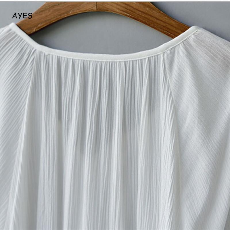 Tassel Chiffon Blouse Women White Long Sleeve Shirts Lady Elegance Loose Blouses Female V Neck Solid Spring Summer Blouses Tops