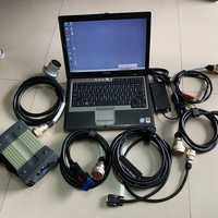 Multiplexor mb star c3 con cables herramienta de diagnóstico software hdd con laptop d630 listo para usar 2 años de garantía
