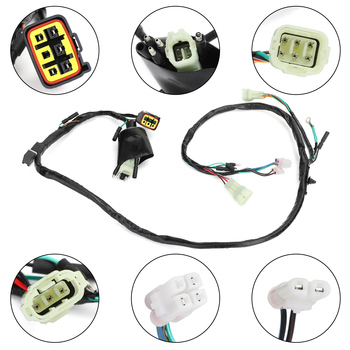Areyourshop for HONDA TRX400EX TRX 400 EX 1999-2004 2000 2001 2002 2003 32100-HN1-000 Wire HARNESS Cable