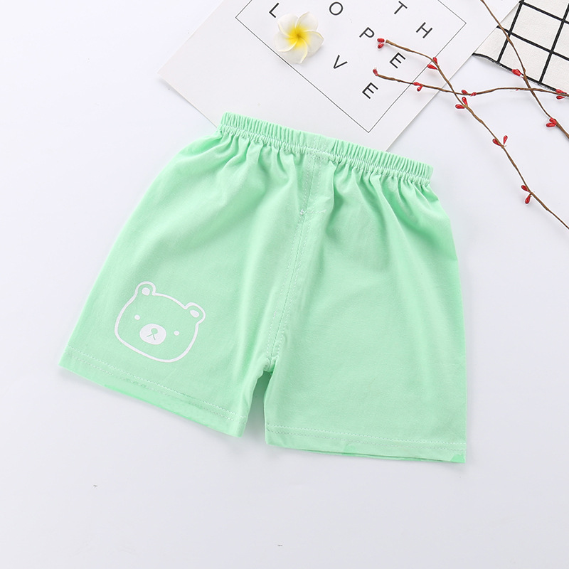 New Baby Boy Shorts In Summer Wear Thin Baby Girl Trousers Pure Cotton Casual Pants