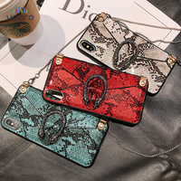 VOZRO Luxury Snake Card Package Phone Case For 2020 Iphone 11 Pro XR XS Max 6 6S 7 8 Plus Case Telephone Covers Accessories Bag