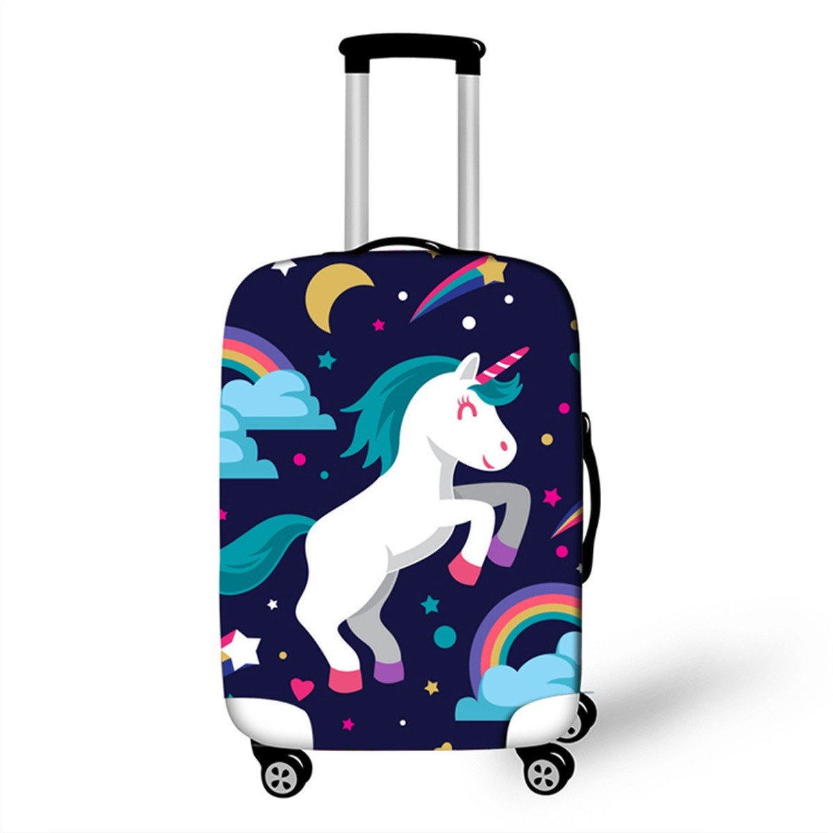 3D Unicorn Luggage Cover Cartoon Suitcase Dust Covers Kids Trolley Baggage Bag Protection Case Travel Accessories For 18-32 Inch