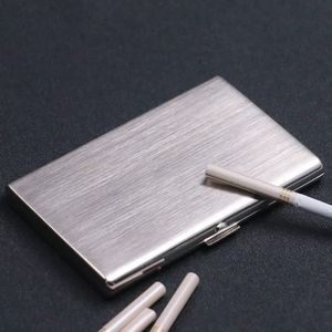 2020 new high quality ultra-thin 12-piece cigarette case and exquisite gift box metal long cigarette case cigarette accessories(China)