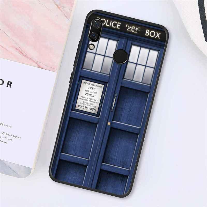 Babaite TARDIS Hộp Bác Sĩ Ốp Lưng Điện Thoại Xiaomi Redmi8 4X 6A 5A 7A S2 Redmi 5 5Plus Note5 7 Note8Pro