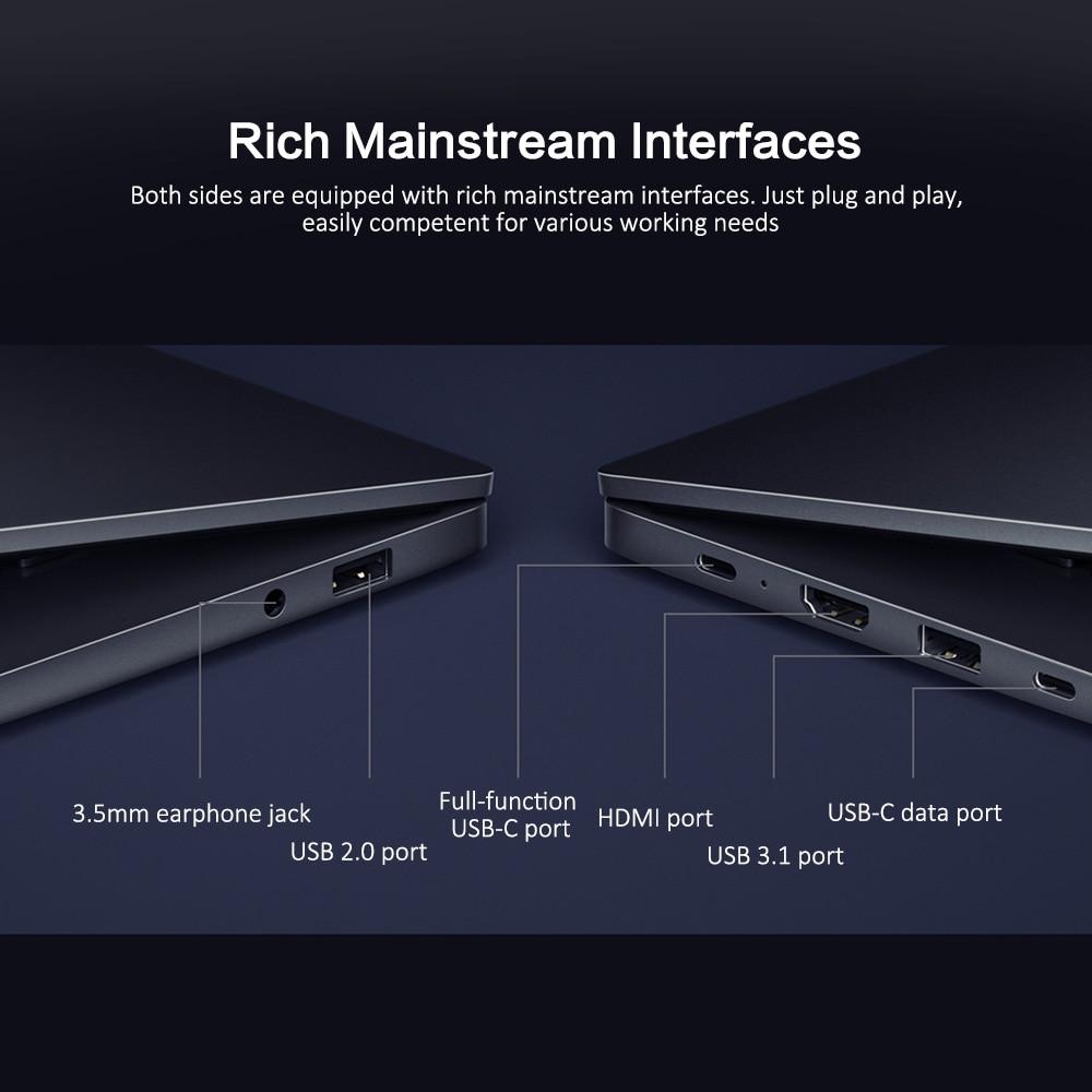 Xiaomi RedmiBook 16 16.1-inch FHD Laptop 8-core 16GB 512GB 100% sRGB 46Wh Battery 12h Endurance