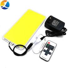 220X113 Mm 200W Led paneel Licht Cob Board Met Dimmer Diy Home Outdoor Verlichting 12V 110V 220V Dimbare Afstandsbediening Led Lamp