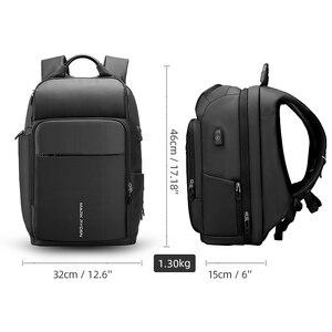 Image 5 - Mark Ryden Männer Rucksack Multifunktions USB Lade 15,6 inch Laptop Tasche Große Kapazität Wasserdichte Reisetaschen Für Männer