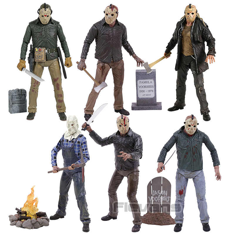 "NECA Friday the 13th Jason Voorhees 7 ""PVC Action Figure Collectible Model Toy"