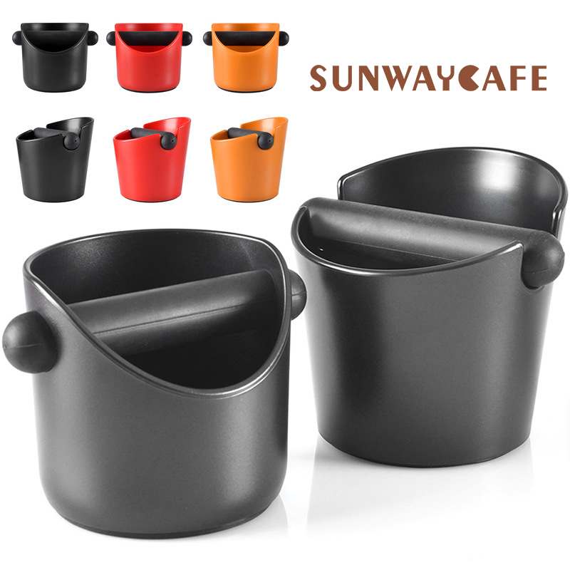 ABS Coffee Knock Box Espresso Grounds Container Knock Box Manual Grinder Household Coffee Tools Cafe Accessories For Barista