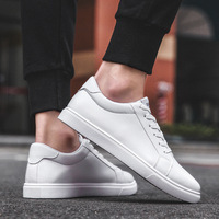 Men vulcanized Flats shoes 2019 Casual Shoes Mens white board shoes men trend breathable sneakers basket Daily Footwear Male