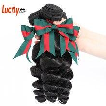 30 Polegada vison extensão do cabelo brasileiro loosewave pacotes negócio 100% cabelo humano 1/3/4 remy virgem pacotes de cabelo feminino cor natural