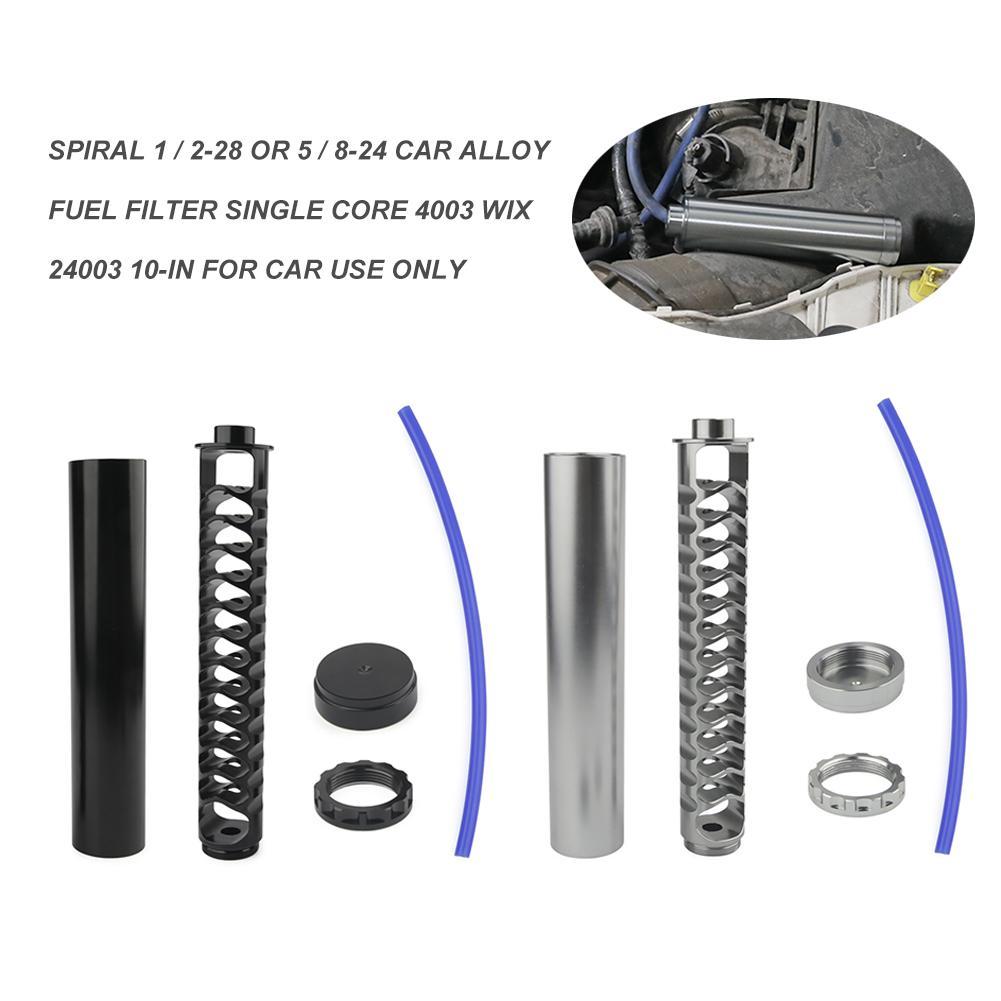 filtro para combustivel filtro de combustivel 10 polegada de aluminio espiral 1 2 28 ou 5