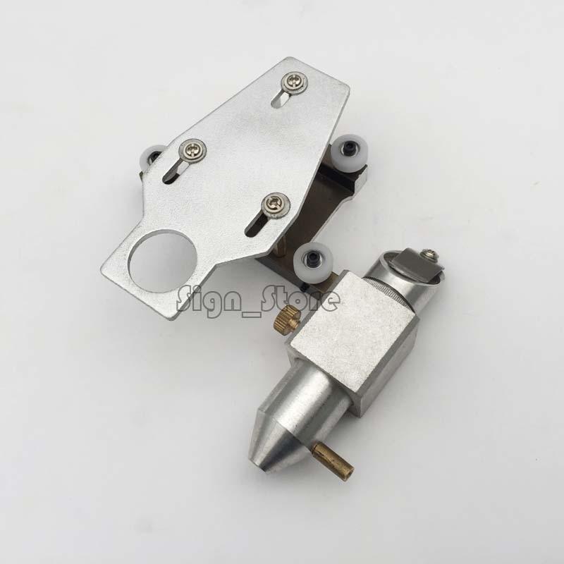 40W CO2 Laser Stamp Engraver K40 3020 3030 3040 3050 Part Head Mount 20 Mirror 18 Focus Lens 50.8mm With Air Nozzle