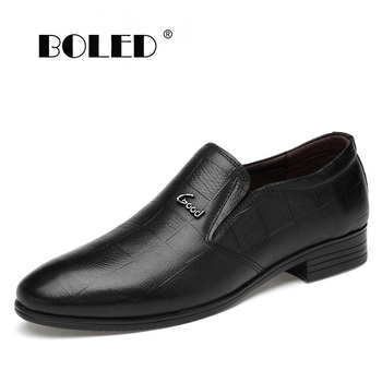 New Fashion Genuine Leather Men Shoes Classic High Quality Men Wedding Dress Shoes Formal Business Oxford Shoes Men