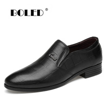 New Fashion Genuine Leather Men Shoes Classic High Quality