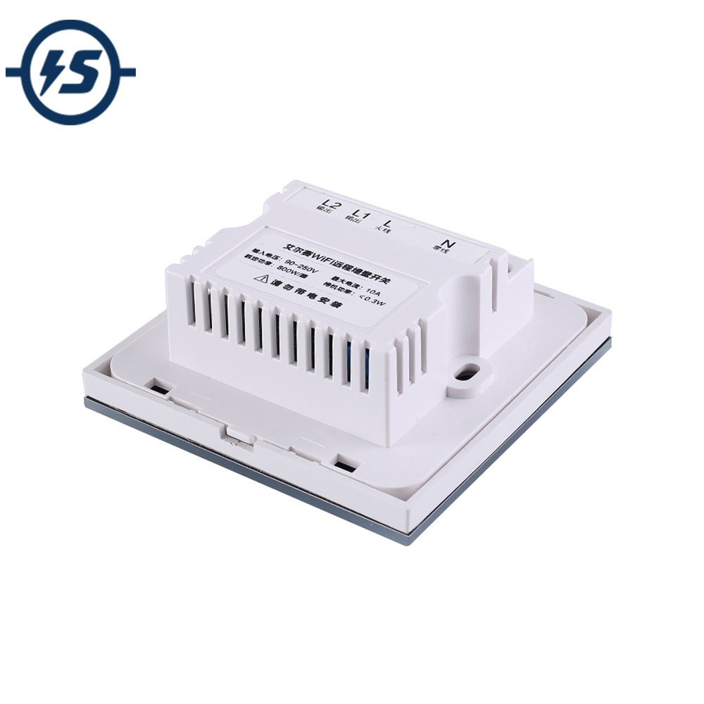WIFI Wireless Module AC 110V 220V 800W 2 Channel 2Bit Type-86 Touch Switch APP Circuit Intelligent Controller