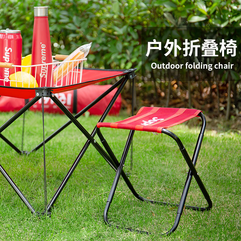 Maza Folding Bench Chair Outdoor Ultra-light Portable Bench Fishing Camping Art Sketch Painting