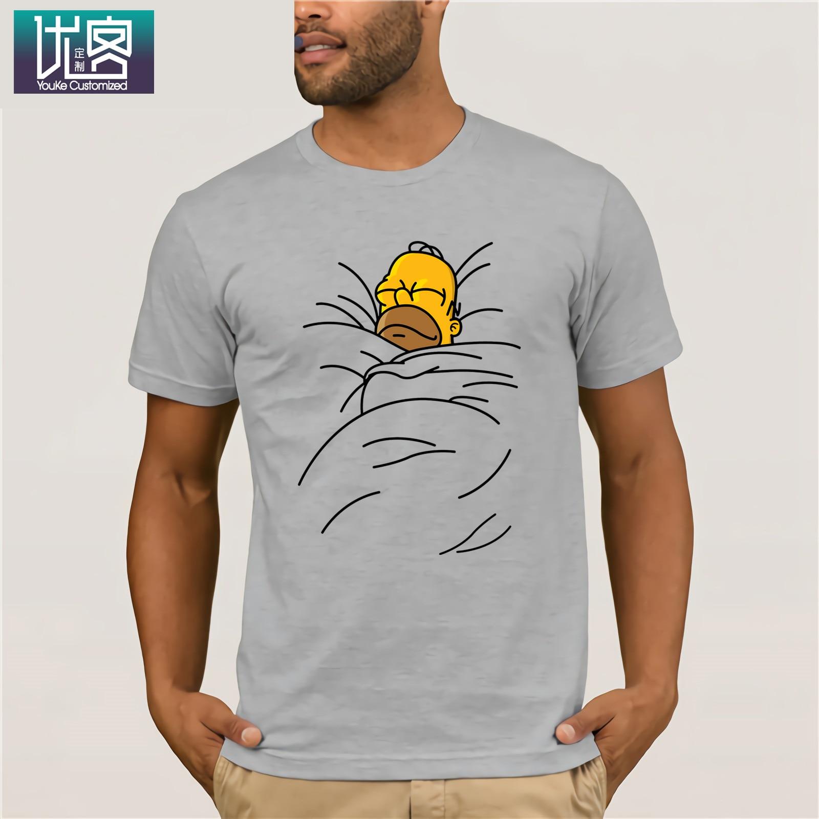 Toast cannelle chignon simpsons T-Shirt vêtements populaire T-Shirt col rond 100% coton t-shirts Humor T-Shirt 100% couverture en coton graphique
