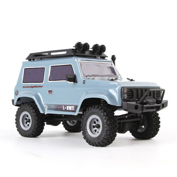 URUAV RC Car 1:24 4WD 2.4Ghz 15km/h Remote Control Car Mini RC Car Brush Motor Crawler Model Vehicle Waterproof RTR Toys Model 2
