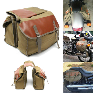 Universal Backpack Carry Tail Saddle Bag Motorcycle Seat Bag Horse Luggage
