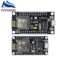 Module sans fil CH340/CP2102 NodeMcu V3 V2 Lua, carte de développement WIFI Internet des objets basée ESP8266 avec antenne pcb 5 pièces