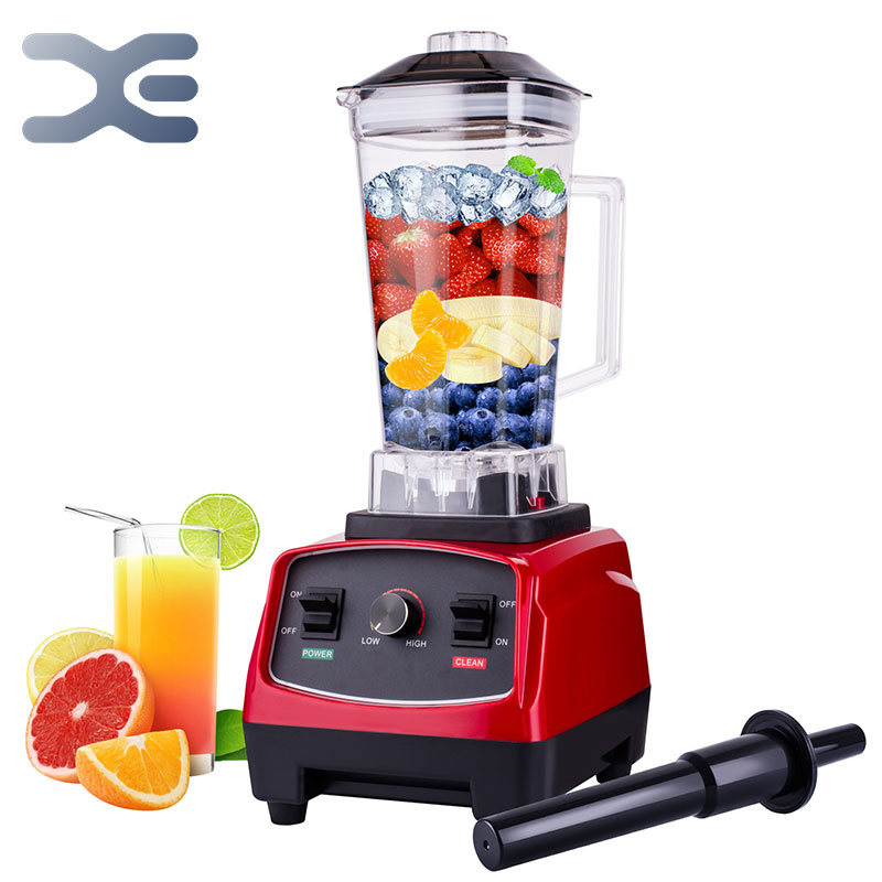 2200W Heavy Duty Commercial Countertop Blender 2L 68oz Built in Timer BPA FREE Professional Juicer Ice Smoothie Soups Machine