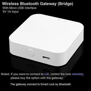 Image 5 - Serrure de porte dempreinte digitale Tuya Bluetooth Wifi clavier numérique serrure de bouton de combinaison de carte à puce pour la maison/bureau/hôtel serrure de bricolage