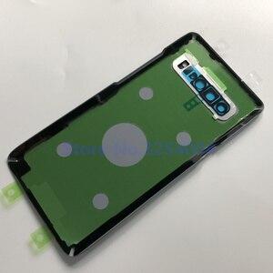 Image 5 - Originale PER SAMSUNG Galaxy S10 5G versione G977 G977F G977B di Vetro Posteriore Della Batteria Della Copertura Posteriore del Portello Dellalloggiamento Posteriore di Caso di Vetro cover + strumento