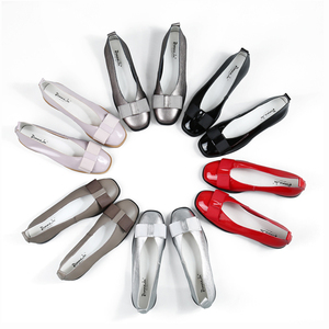 Image 3 - Zapatos de Ballet Donna in, zapatos de boda para mujer, mocasines de cuero para mujer, zapatos de diseñador Bowknot, zapatos casuales de verano para mujer