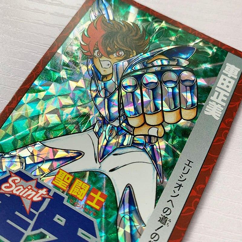 29pcs/set Saint Seiya Comic Cover Twelve Gold Saints Poster Hobby Collectibles Game Collection Cards