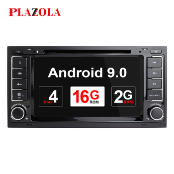 Autoradio 2 Din Android Car DVD Player For VW/Volkswagen/Touareg/Transporter T5 Multivan 2004-2009 GPS Navi Stereo OBD Head Unit image