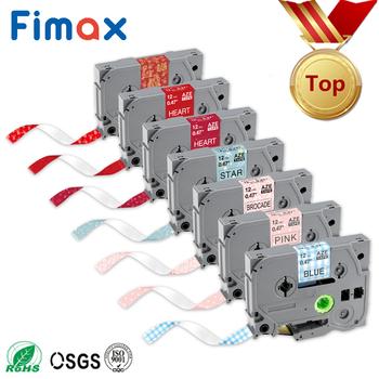Fimax 1 sztuk taśma wzór TZE231 Tze-231 12mm taśma z etykietami kompatybilny dla Brother p-touch p drukarki dotykowe TZe131 tz231 tze 231 tanie i dobre opinie TZe-MPPD36 110*90 Wstążka Wstążki drukarki Drukarka etykiet Compatible Brother P touch 1 2 Inch (12mm) 26 2 Feet (8m)