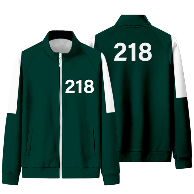SQUID GAME THEMED JACKET (10 VARIAN)