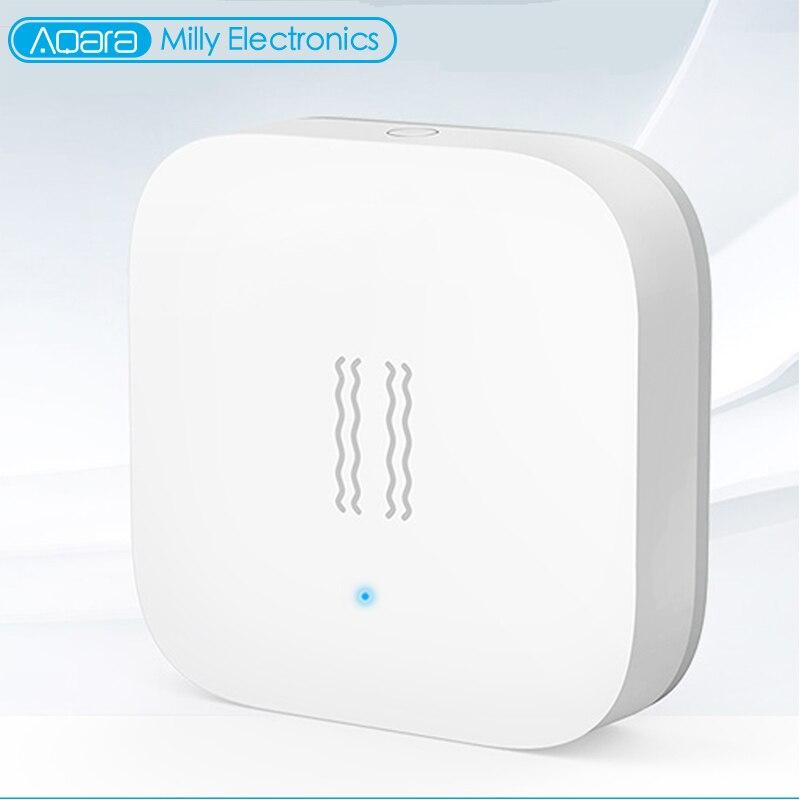 Aqara Zigbee Smart Monitor de Sensor De Movimento Do Alarme De Detecção De Vibração Sensor De Choque Para MiHome Aqara Mi Casa App