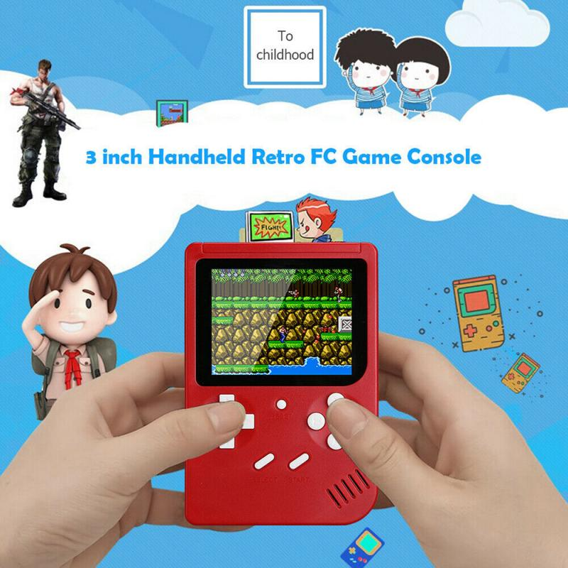 500 IN 1 Retro Video Game Console Handheld Game Handheld Games Console Player Progress Save/Load MicroSD card External
