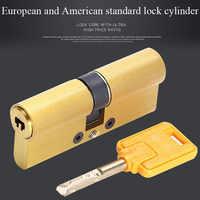 European Standard Universal Copper C-class lock core Cylinder Security Door Gate lock cylinder lock cylinder CC series