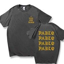 Pablo Tshirt Polera Social Club Streetwear Rapper Homme 20-Kanye-West Hombre 100%Cotton