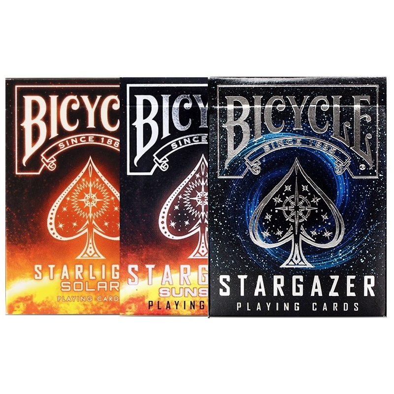 Bicycle Stargazer Sunspot Solar Playing Cards Deck Collectible Poker USPCC Limited Edition Magic Card Games Magic Tricks Props
