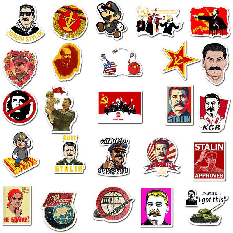 10/30/50PCS Misto Unione Sovietica Stalin URSS CCCP HET Adesivi IN PVC Impermeabile di Skateboard Chitarra Bagaglio Moto sticker Kid Giocattolo