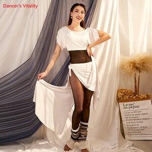 Image 4 - Bụng Bance Thực Hành Quần Áo Thu Đông Mới Modal Phù Hợp Với Phương Đông Nhảy Dance Hiệu Suất Quần Áo Nữ
