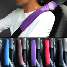 2Pcs Breathable Car Safety Belt For Car Cover Seat Belt Pad Shoulder Pad Auto Seatbelt Protective Strap Pad Accessories Interior