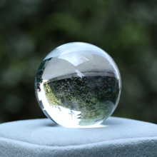 Fluorite Glass Sphere Artificial-Crystal-Ball Quartz-Stone Natural Crafts Office-Decoration-Accessory