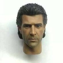 Redman brinquedos 1:6 lethai arma rm014 cabeça esculpir mel colúcille gerard gibson cabeça escultura modelo de brinquedo