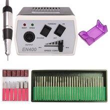 35W 40000/20000 Rpm Electric Nail Boor Machine Manicure Set Polijsten Gereedschap Pedicure Gel Remover Sterke Nagelvijl apparatuur Kit