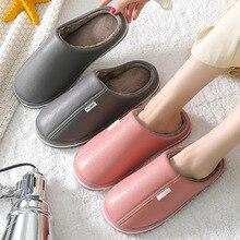 Shoes Female Slipper Warm Waterproof Winter Indoor Couple Zapatos-De-Mujer Home