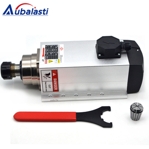 Image 5 - Aubalasti 7.5KW אוויר קירור ציר 380V + מהפך שלב אחד 220V כדי 3 שלב 380V 7.5KW הנוכחי 32A עבור CNC נתב מכונת
